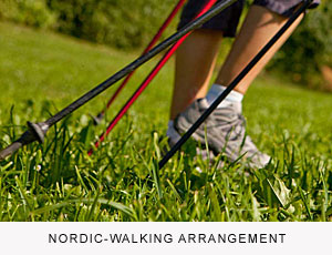 Nordic-Walking Arrangement